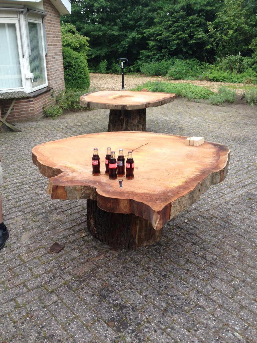 Fonkelnieuw Boomstam tafels | Brummelhuis Meubels CQ-13
