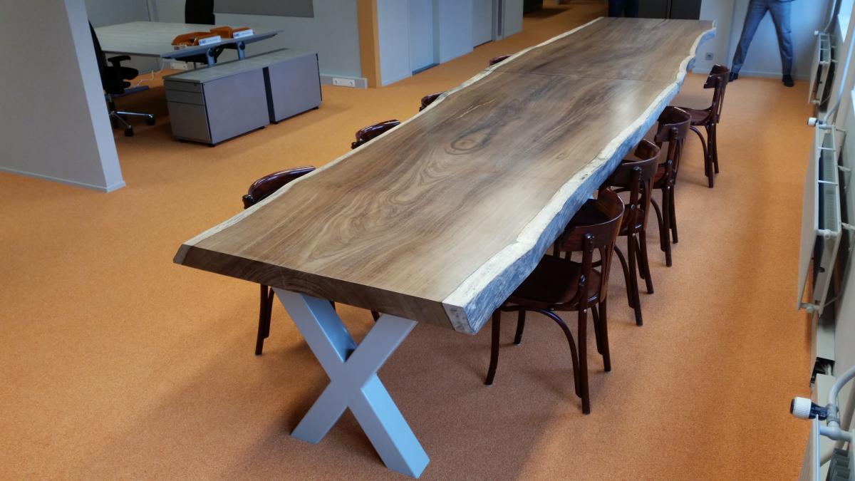 Houten Boomstam Tafel : Boomstam tafels brummelhuis meubels