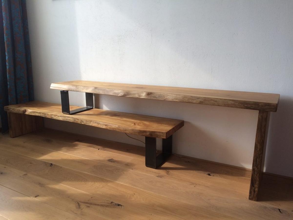 Brummelhuis meubels - Badkamer met houten meubels ...